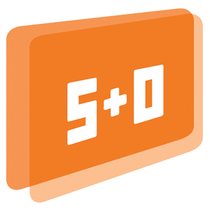 S+O logo for The Camera Map