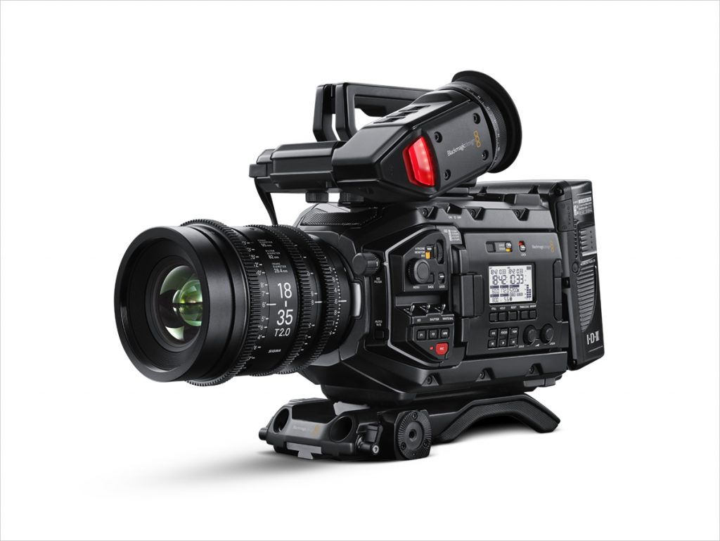 Blackmagic URSA MINI PRO in The Camera Map